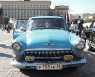 Automobile esecutiva Volga GAZ-21 Fotografia Stock