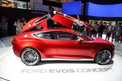 Automobile EVOS di concetto del Ford allo IAA Immagini Stock Libere da Diritti