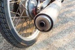 Automobile exhaust , intake Royalty Free Stock Photo