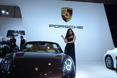 Automobile Exhibition Stock Photography