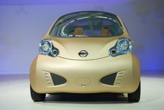 Automobile exhibition Nissan concept car stock photo