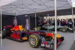 Automobile F1 dall'evento di F1 Live London fotografia stock