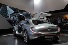 Automobile F125 di concetto del benz di Mercedes Immagine Stock