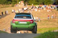 Automobile Fabia di raduno Fotografie Stock Libere da Diritti
