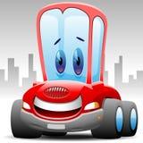 Automobile felice di Toon illustrazione vettoriale
