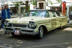 Automobile 100% Ford Mercury Turnpike Cruiser, 1957 Immagine Stock Libera da Diritti