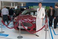 Automobile Ford TUTTO IL NUOVO MONDEO Fotografia Stock Libera da Diritti