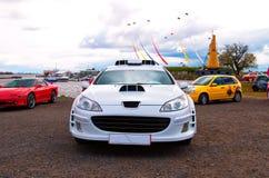 Automobile francese sintonizzata Fotografia Stock