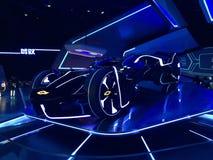 Automobile futuristica del GM immagini stock libere da diritti