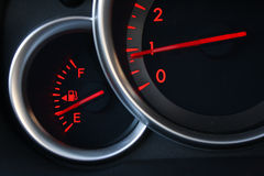 Automobile Gauges Stock Image