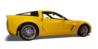 Automobile gialla Immagini Stock
