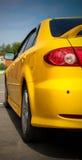 Automobile gialla Immagini Stock Libere da Diritti