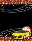 Automobile gialla Fotografie Stock Libere da Diritti