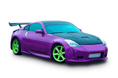 Automobile giapponese del lusso di sport Immagine Stock Libera da Diritti