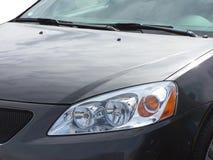 Automobile grigia Immagini Stock Libere da Diritti