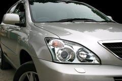 Automobile grigia Fotografie Stock Libere da Diritti