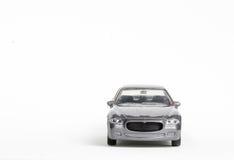 Automobile grigia del giocattolo Fotografie Stock Libere da Diritti