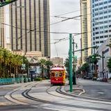 Automobile Harrah della via di New Orleans RTA Fotografia Stock Libera da Diritti