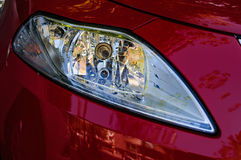 Automobile Headlight Stock Photo