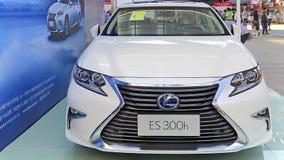 Automobile ibrida 2015 di Lexus es300h Fotografia Stock Libera da Diritti