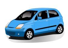 Automobile illustration. Vector illustration of a modern city automobile stock illustration