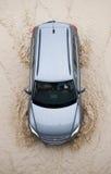 Automobile in inondazioni immagine stock libera da diritti
