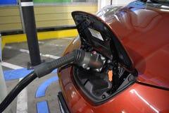 Automobile inserita fotografia stock