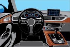 Automobile Interior Royalty Free Stock Photos