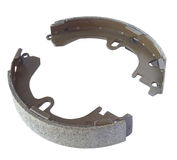 Automobile internal brake shoes Royalty Free Stock Photography