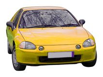 Automobile isolata Immagini Stock Libere da Diritti