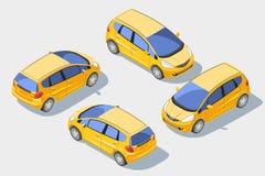 Automobile isometrica 1 Fotografie Stock Libere da Diritti