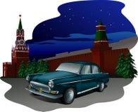 Automobile kremlin Fotografia Stock