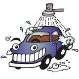 Automobile lavata Fotografie Stock