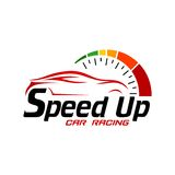Automobile Logo TemplateWith Flat Color Immagini Stock