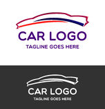 Automobile Logo Vector Design Immagine Stock