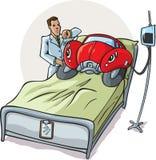Automobile malata Fotografia Stock Libera da Diritti