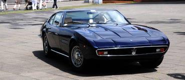 Automobile Maserati Ghibi dell'annata immagine stock