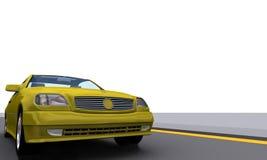 Automobile MercB di SportPower illustrazione vettoriale