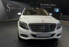 Automobile Mercedes-Maybach S-Klasa-1 Fotografia Stock Libera da Diritti