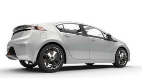 Automobile metallica bianca royalty illustrazione gratis