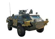 Automobile militare corazzata Immagini Stock Libere da Diritti