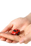Automobile miniatura Fotografie Stock