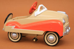 Automobile miniatura del pedale della replica Fotografia Stock Libera da Diritti