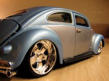 Automobile model toy. Beetle model toy Royalty Free Stock Photo