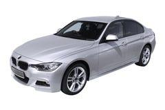 Automobile moderna BMW 3 (F30) Fotografia Stock Libera da Diritti