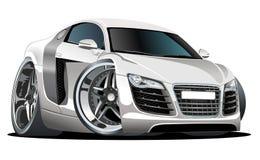 Automobile moderna del fumetto di vettore Fotografia Stock