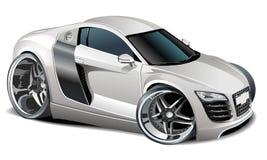 Automobile moderna del fumetto di vettore illustrazione vettoriale