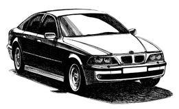 Automobile moderna della vettura a quattro posti Immagine Stock Libera da Diritti