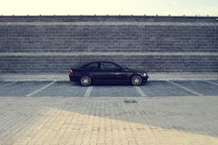 Automobile moderna nera Fotografie Stock Libere da Diritti