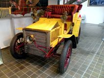 Automobile in museo tecnico a Praga 3 Immagini Stock Libere da Diritti